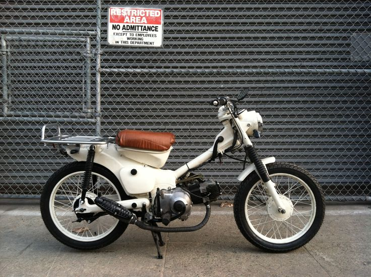 WBxCT - The Blonde Custom 1981 Honda CT110 by Wolf Workshop
