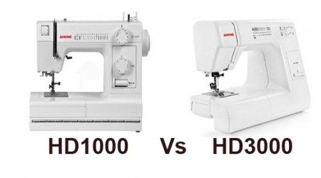 Comparison between Janome DC1050 vs 8077, two great mechanical sewing machines.