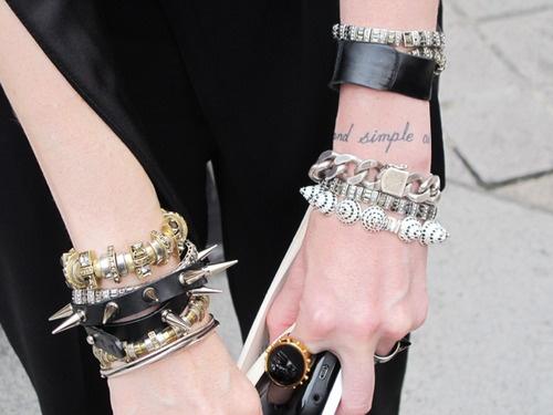 Around the wrist
