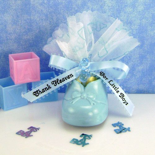 Baby Bootie Favor Baby Shower Boy Booties Themes