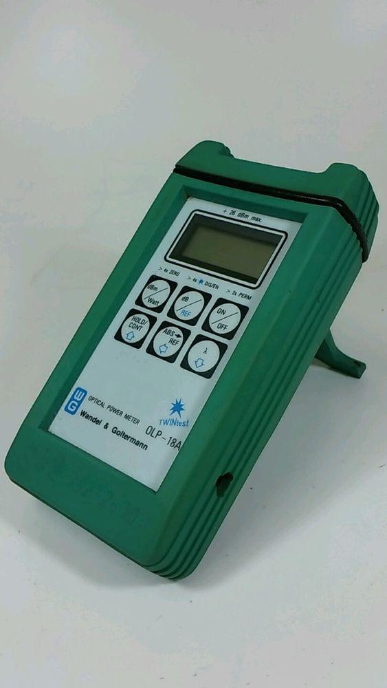 [Wandel&Goltermamn OLP-18A] Optical Power Meter (Made In Germany) #WandelGoltermamn