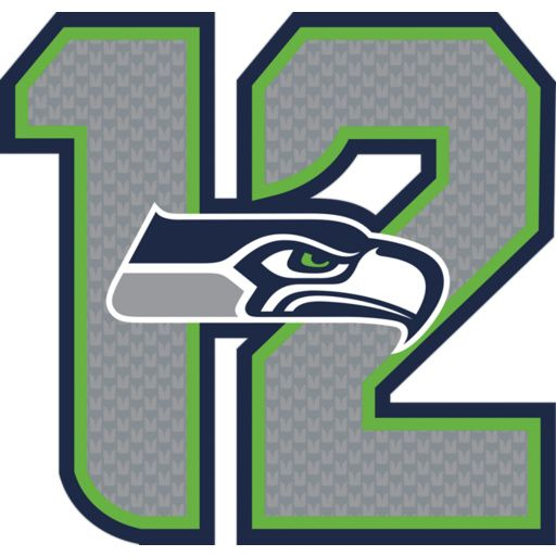 Seattle Seahawks fan?  Prove it!  Put your passion on display with the Seattle Seahawks 12 Logo Fathead from Fathead.com!