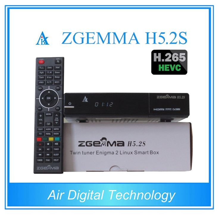 20 pcslot zgemma h5.2s newest Bcm73625 fastest running satellite tv receiver twin tuner dvb ss2 support h.265 video decoding