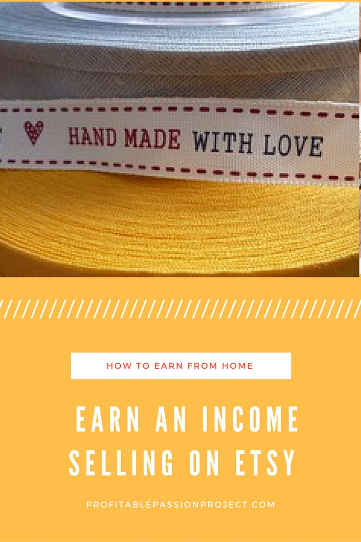 Learn how to make extra income selling hand made goods, craft supplies or all things vintage on the popular platform Etsy