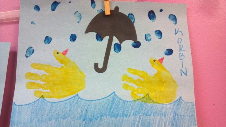 April Handprint Calendar : Spring art handprint holidays pinterest hand prints