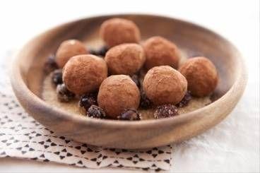 Truffe chocolat au poivre et au cassis, les recettes de nos chefs