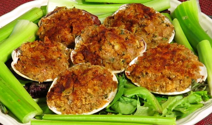 Baked Stuffed Clams - the search for the perfect recipe continues  this one's up next - seems kind of basic, 1 T of juice?