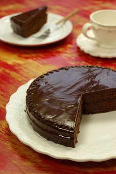 Cinco Quartos de Laranja: Bolo de chocolate vienense                                                                                                                                                     Mais