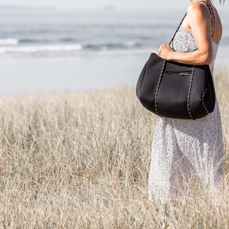 Heading to the beach this weekend? Our multipurpose neoprene tote bag is perfect for throwing all of your beach gear in. No need to worry if it gets dirty...they are machine washable!