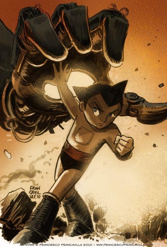 Astro Boy | 鉄腕アトム by Francesco Francavilla *