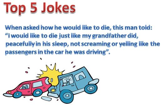 Short Funny Jokes in English for Adults