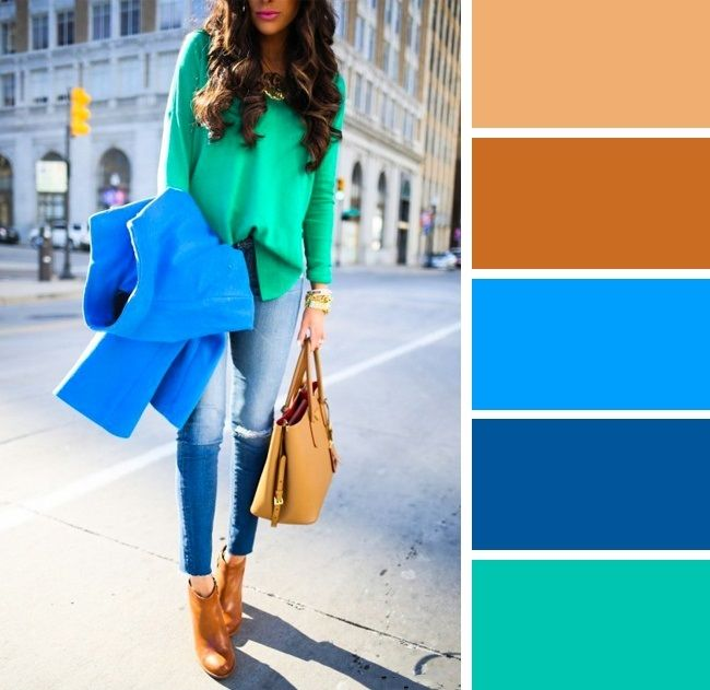 10 Fresh Color Combinations and Ruling Shapes For Spring