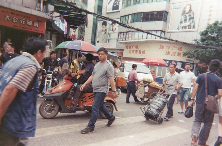 The Watcher  (Disposable Camera) #disposablecamera #china #street #cycomind