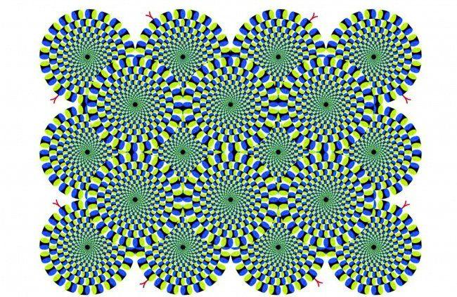 Оптические иллюзии, которые способны взорвать мозг