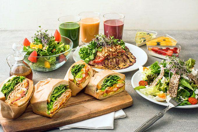 スーパーフード入サンドイッチ専門店「ボン ヴィヴァン サンドイッチ」が開店、ロールケーキ店も同施設に | ニュース - ファッションプレス