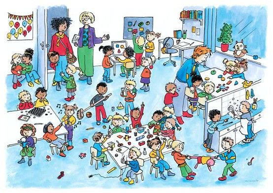 Praatplaten over de klas, het schoolplein, gym en het schoolreisje. Website: http://klassetv.nl/pakket/kijkenbeleef/praatplaten.php