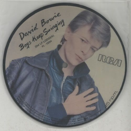 """David Bowie - Boys Keep Swinging 7"""" (Spanish picture disc)"""