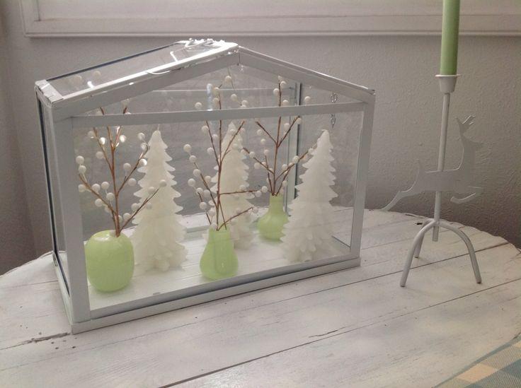 Charming Christmas Scene   Ikea Terrarium