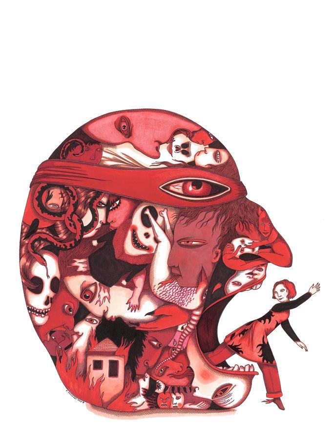 05_Enfer - L'abécédaire de la colère éditions Thierry Magnier 2008