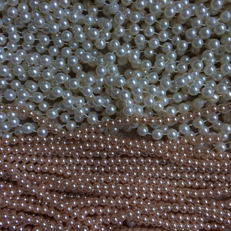 Getting ready to create a custom order ... Pearls, pearls, pearls!!