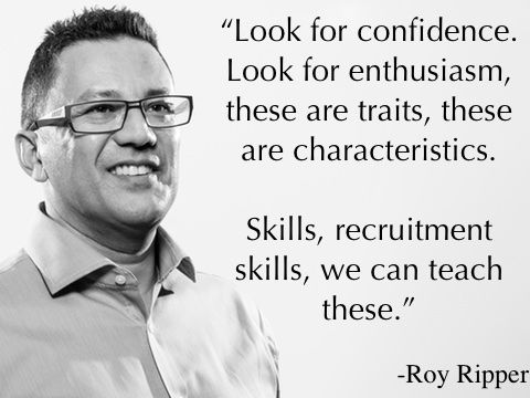 Secrets to igniting growth in you and your recruitment business, by bestselling author and speaker Roy Ripper  www.recruitmentmasterminds.com