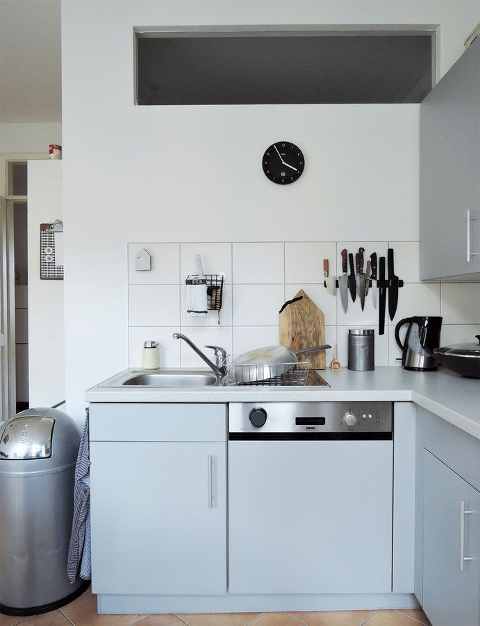 my kitchen – small and simple