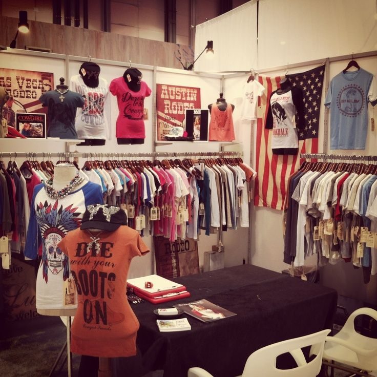 Exhibition Stand Clothes : The original cowgirl clothing co booth at magic las vegas
