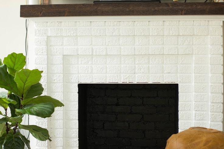 always rooney: White Brick Fireplace | Before & After