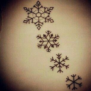 Copo De Nieve Snowflake Pinterest Tattoos Snow Flake Tattoo
