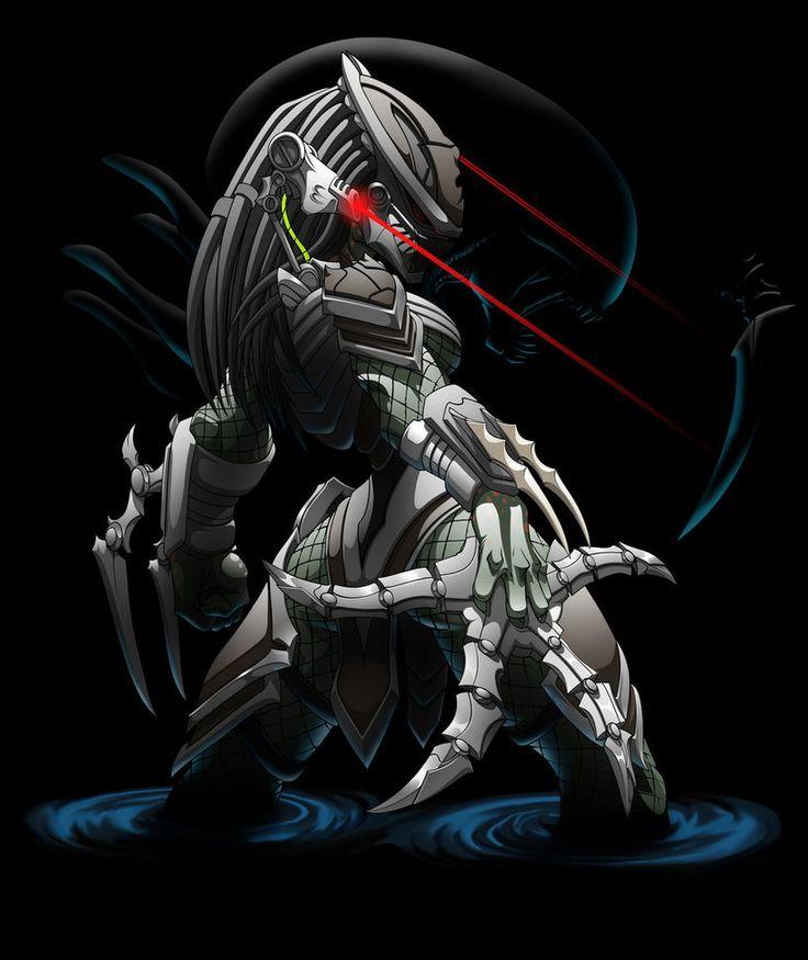 2951 Predator muchacha 4 por Spoon02