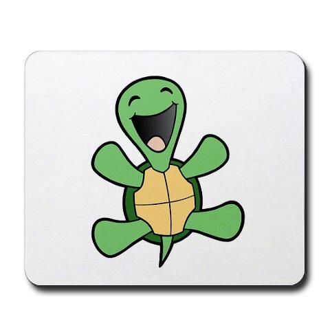 pictures of turtles cartoon | Cartoon Turtle Mouse Pads ...