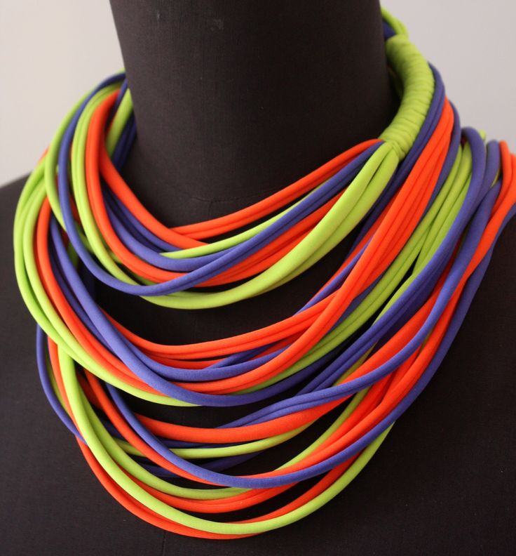 100% Handmade Necklace. Size is approximate 120 centimeter long, and you will be able to adjust the size or length by giving it several turns around your head, and you can also wear it as a belt or headband.  https://www.etsy.com/listing/225701362/nh-long-style?ref=shop_home_active_19