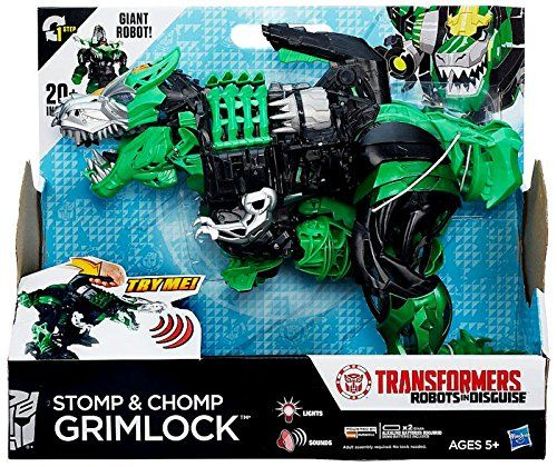 Transformers Robots in Disguise Stomp and Chomp Grimlock ...