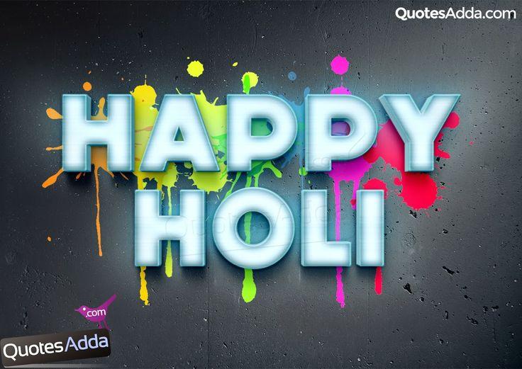 Beautiful Happy Holi Wishes and Greetings Designs | QuotesAdda.com | Telugu Quotes | Tamil Quotes | Hindi Quotes |