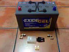 Montaje de batería auxiliar en Trafic, Vito y T5: Kit para hacerlo(BRICOBRIBONJ)