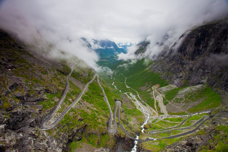 Norsko - cesta trollů