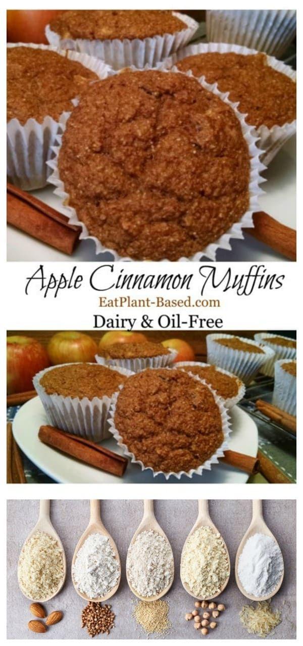Apple Cinnamon Vegan Muffins Recipe Vegan Muffins Cinnamon