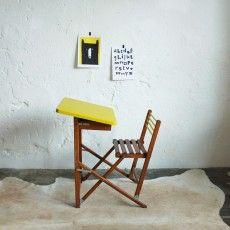 Bureau pliant vintage - atelierdupetitparc.fr
