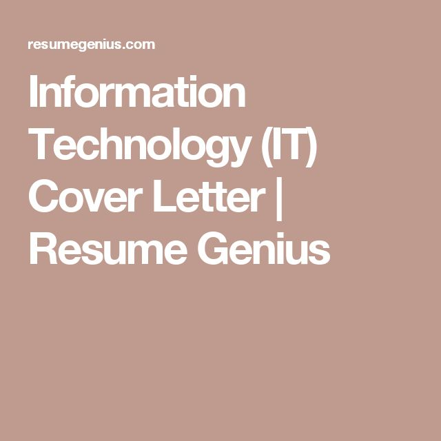 8 best CV TEMPLATE images on Pinterest Cover letters, Cv - information technology cover letter template