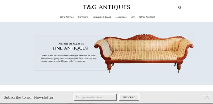 Pleased to unveil our new website! Go to tgantiques.com.au to view our entire collection.   #antiques #furniture #Melbourne #MorningtonPeninsula #RedHill #interiordesign #interiors