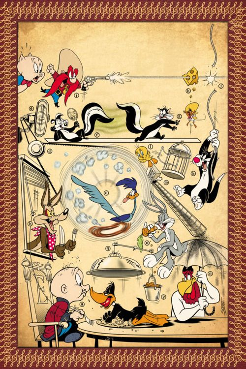 Looney Tunes... I love this show :)  i LOVE CLASSIC HUMOR!