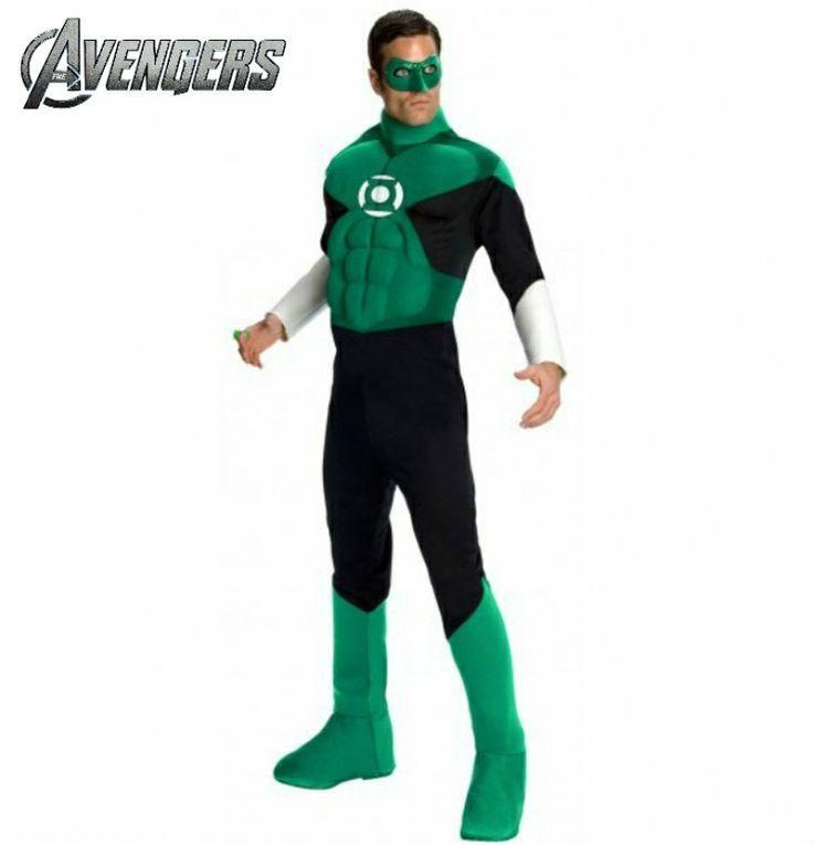 #Disfraz de Linterna verde adulto. Green Lantern #costume. #avengers http://www.leondisfraces.es/producto-1253-disfraz-de-linterna-verde-adulto