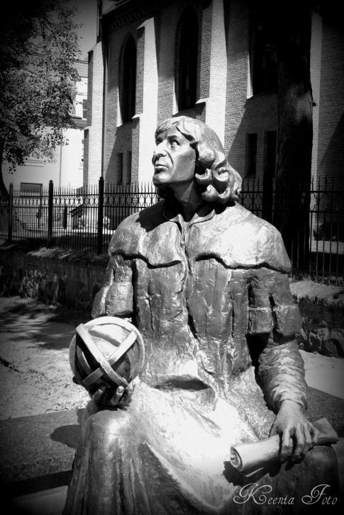 Copernicus in Olsztyn, Poland