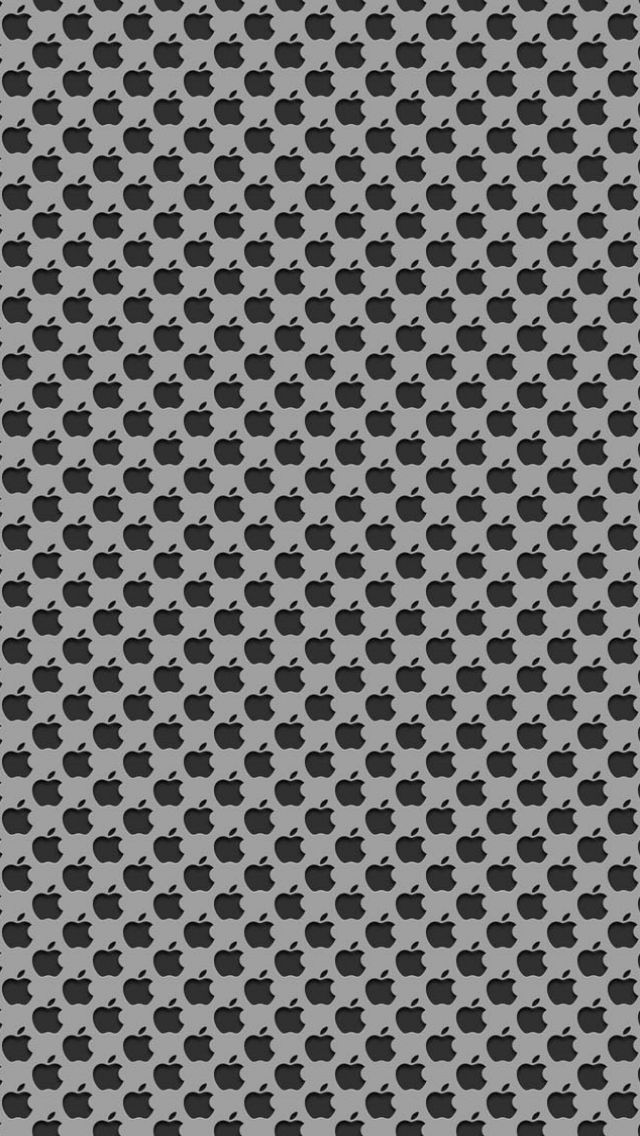 Download Little Black Apples 640 x 1136 Wallpapers - 4473237 - Apple Logo Black Little iPhone   mobile9