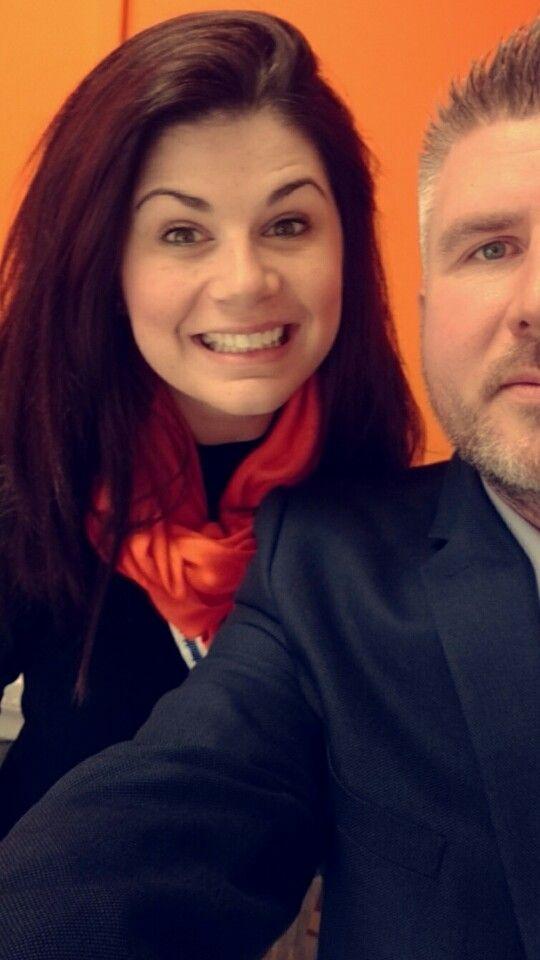Charlotte and Gary selfie