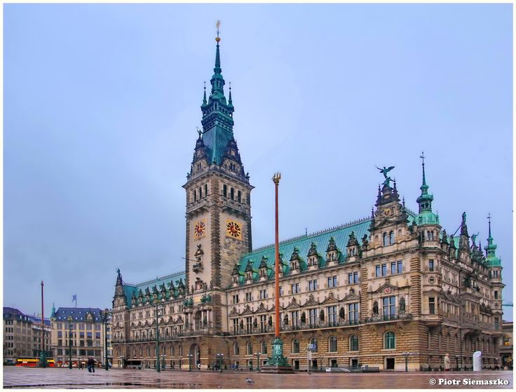 Hamburg -- Rathaus - null