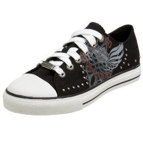 Harley-Davidson Tops for Women | Harley Davidson shoes: Cosmic Canvas women's shoes