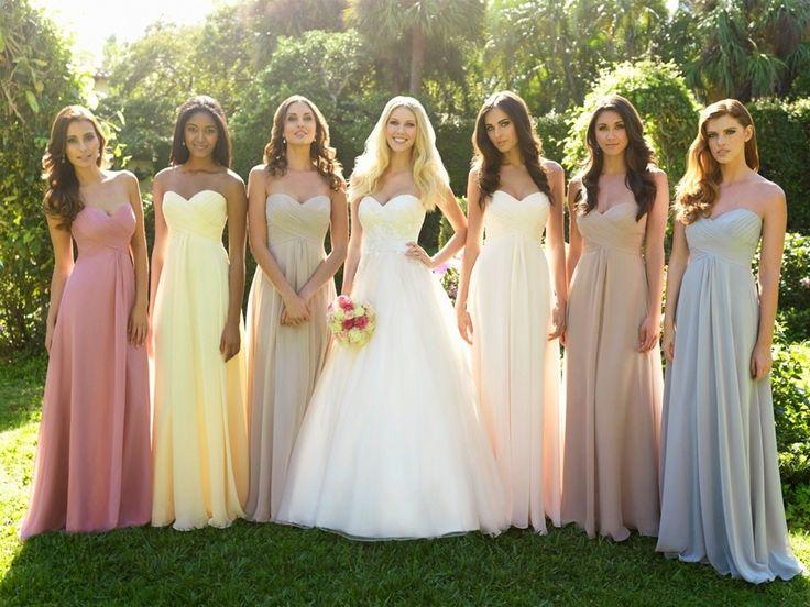 robe simple longue bustier coeur pour mariage