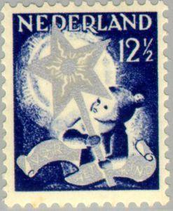 ◇Netherlands  1933    Child with Twelfth Night Star