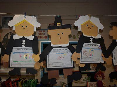 Activities for ThanksgivingPilgrims and ThanksgivingTurkey Trouble Freebie!